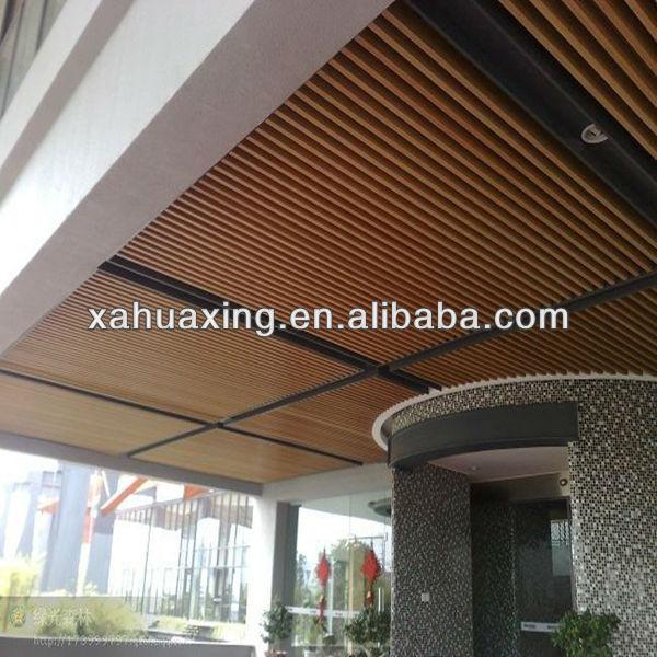 madera plstico compuesto wpc diseo falso techo