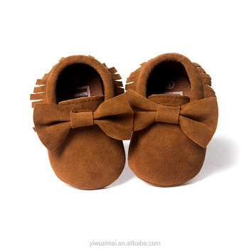 8a7cc96950a72 Wholesale Genuine Leather Baby Shoes Baby Moccasins Soft Sole Baby ...