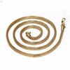 Trendy bulk 3.2mm gold mesh chain necklace jewelry for women