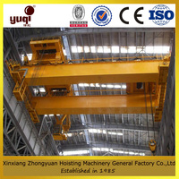 drawing customized double girder overhead crane 30ton kelly