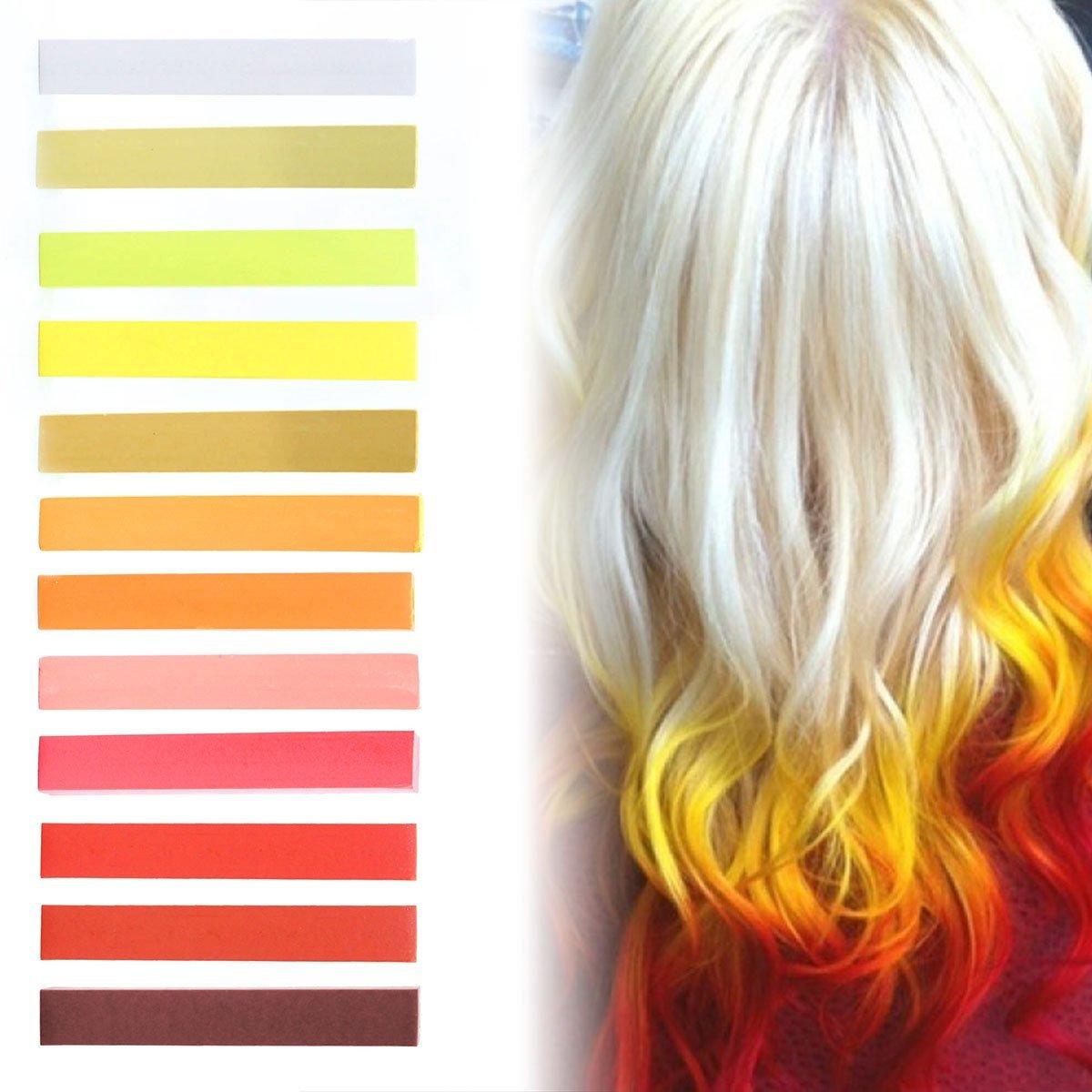 Buy Fire Strawberry Blonde Ombre Hair Dye Set Of 12 Vanilla
