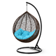 Water drop shaped swing chair wicker hanging chair egg chair