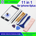 Outer Glass Lens and screwdriver pry set For Iphone6 plus Front Glass Panel Replacement