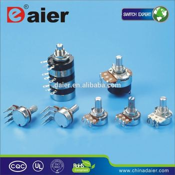 slide potentiometer pinout, View slide potentiometer pinout, DAIER Product  Details from Yueqing Daier Electron Co , Ltd  on Alibaba com