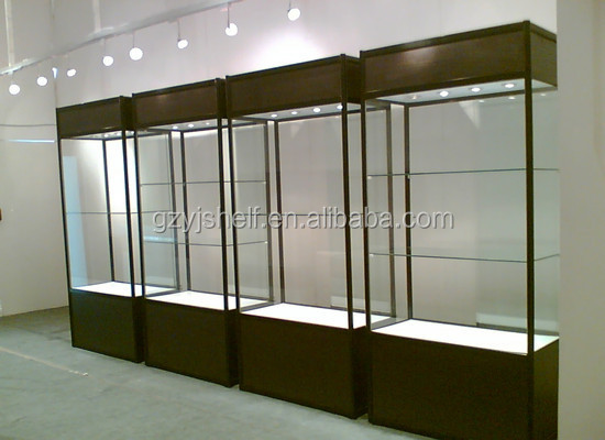 New Style White Lockable Display Cabinets For Exhibition/glass ...