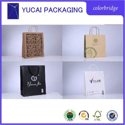 Different Types Design Custom Paper Shopping Bag From China,Made ...