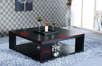 Wooden Furniture Simple Coffee Table Particle Board Pb Modern