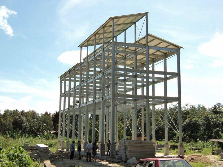 Light Steel Structure Building - Buy Prefab Steel Building,Prefab ...