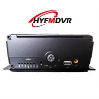 HYFMDVR 6-channel remote monitoring system 2 million HD 1080P car video recorder AHD hard disk SD card