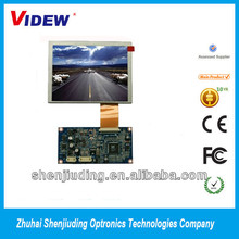 "5.6"" inch capacitive touch screen lcd panel display with 640x480 resolution"