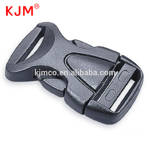 Quick side release plastic Curved plastic buckle for backpack / bag / strap