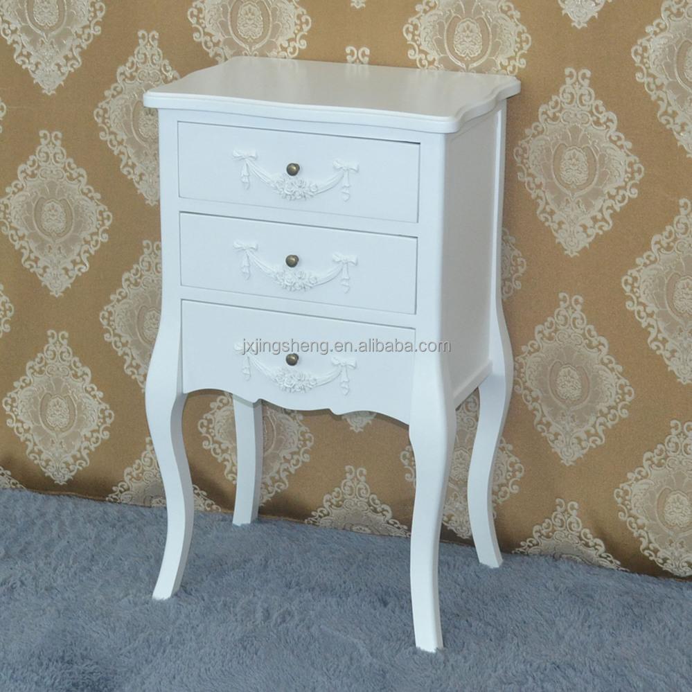 wohnzimmermobel royal oak : Wooden White Bedside Table In Bedroom Furniture Buy Bedside