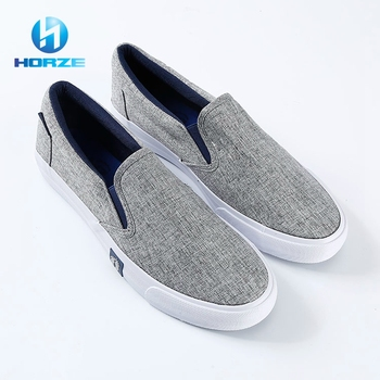 Most Comfortable Breathable Custom Bulk Latest Canvas Shoes / Shoes Casual Men