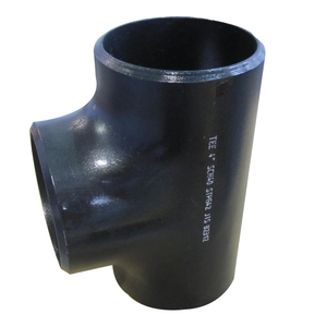 New Product Anti Rust Oiled Pipe Fitting Carbon 92 Degree Aluminum Buttweld TEE
