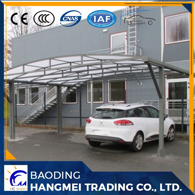 Outdoor awnings and canopies polycarbonate metal carport
