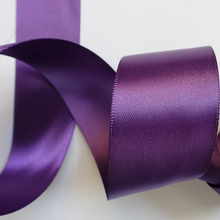 Wholesale Manufactory 100% Polyester Purple Satin Wire Ribbon