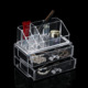 plastic organizer drawer makeup cosmetic holder box display case acrylic storage container clear makeup case organizer wholesale