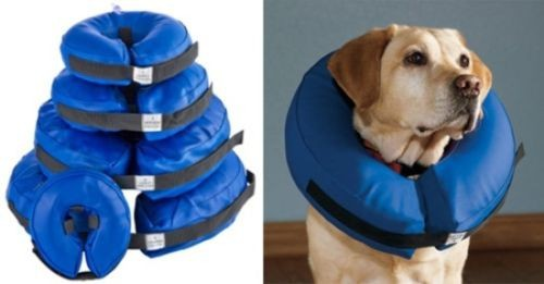 VETERINARY DOG COLLAR SOFT INFLATABLE VET COLLAR