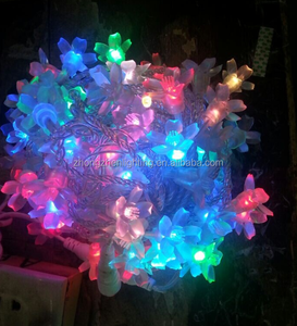10M LED flower string light colorful