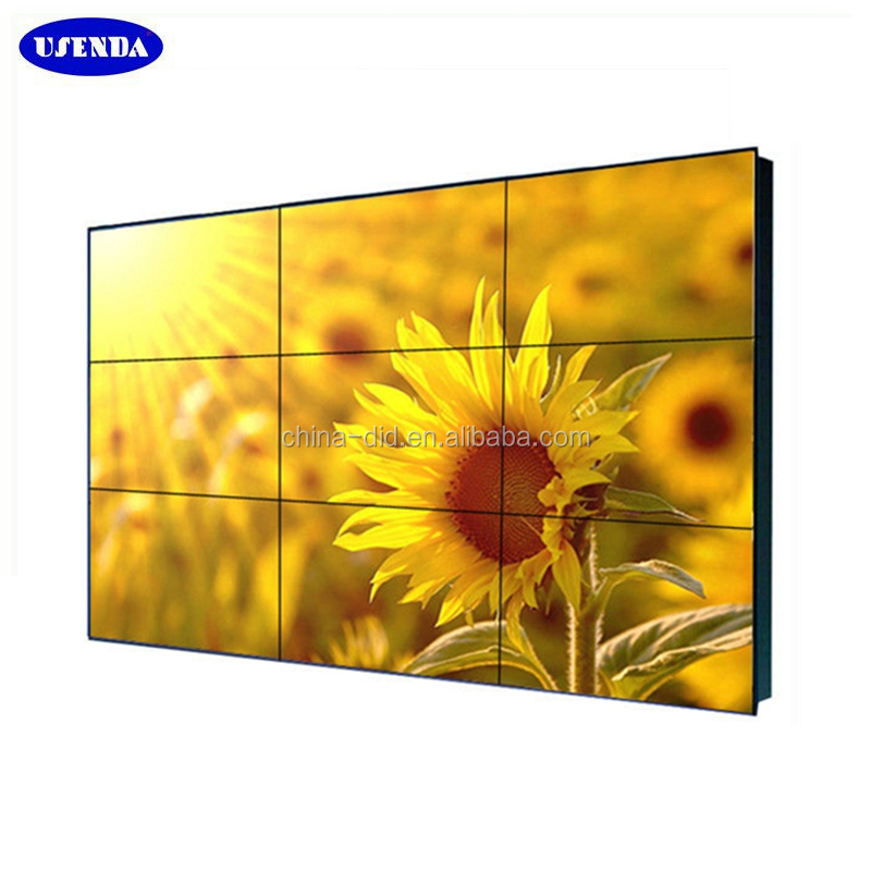 With 47 inch tv station lcd samsung/lg video wall with IPS panel 2x2 4k resolution