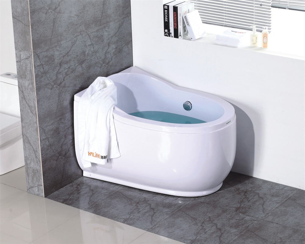 Wholesale Easy Clean 1200mm Mini Bathtub With Air Massage