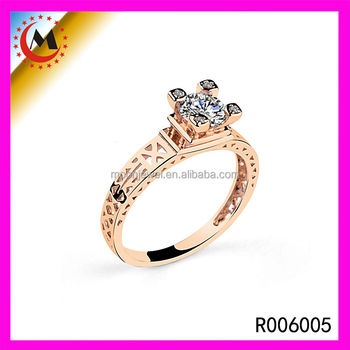 2015 New Trend Rose Gold Gothic Style Rings Greek Style Rings For