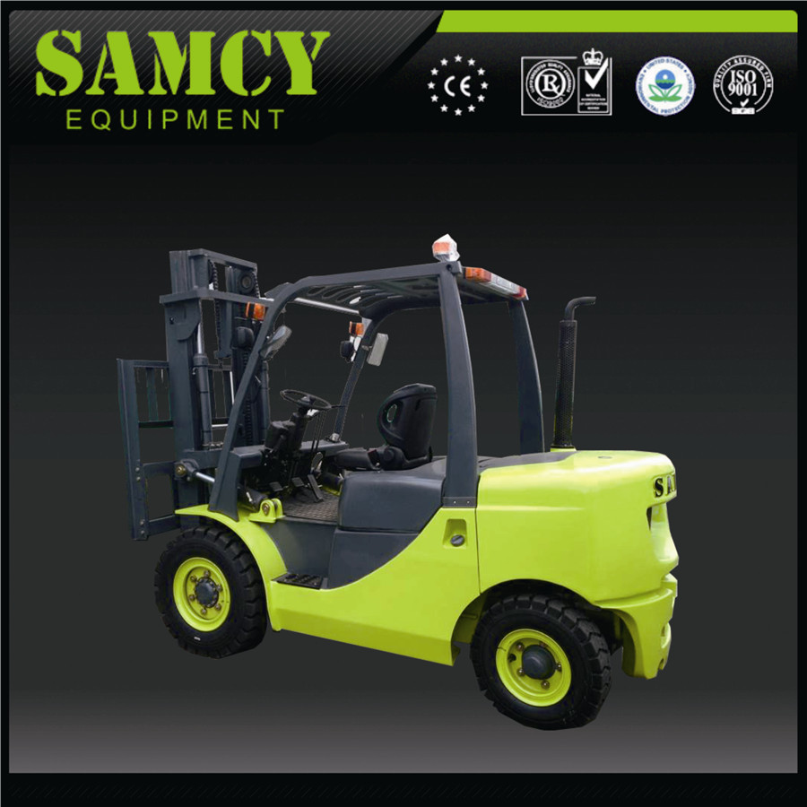 SAMCY Hot Sale Japanese Engine Heavy Duty Low Mast 5 Ton Forklift Price