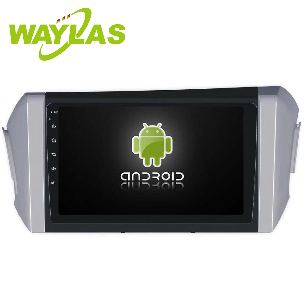 "Waylas 9"" HD ScreenAndroid 8.1 Car DVD for Toyota RHD Innova Support GPS, DVD, Radio, Bluetooth, Mirror Link, Phone Link"