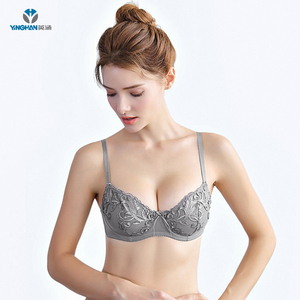 530357c045 Three kinds of color ladies underwear sexy bra and panty new design bra  brief sets flower