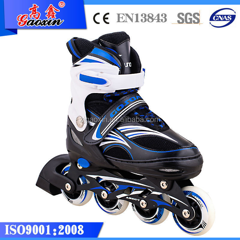 Gx-1506 Alibaba China Supplier Black And Green Roller Skate