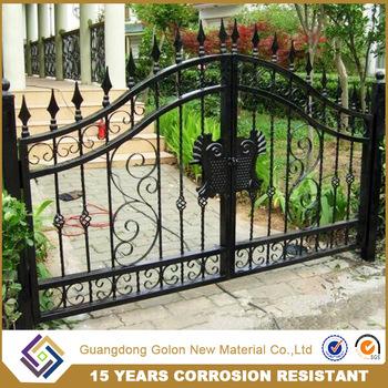 Metal Modern Fence Gate Design / Garden Fence Gate For Hot Sale ...