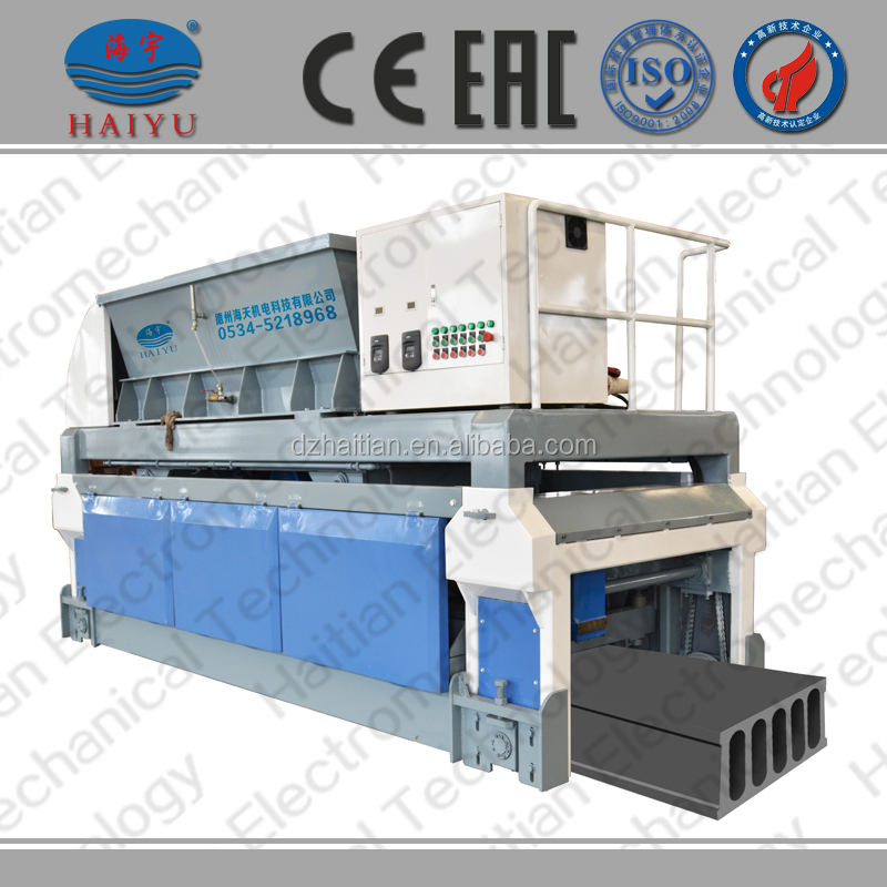 Slipform machine, prefab betonplaat machine