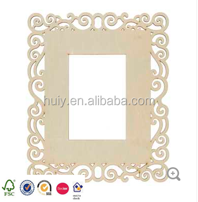 8 X 10 Natural Laser Cut Oval Wood Frame Buy Unfinished Wood