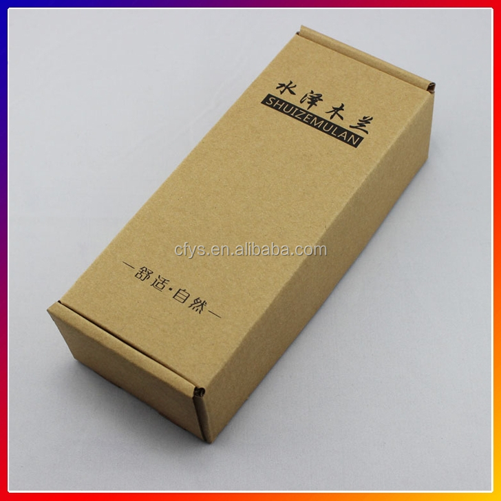 manufacture top quality paper packing box, corrugated box