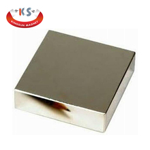 N42 NdFeb/Rare Earth/Neodymium Block Permanent Magnets With Screw Hole