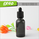 Cool feeling e liquids OEM bottle rectangle black glass 30 ml,eye dropper bottles with childproof cap