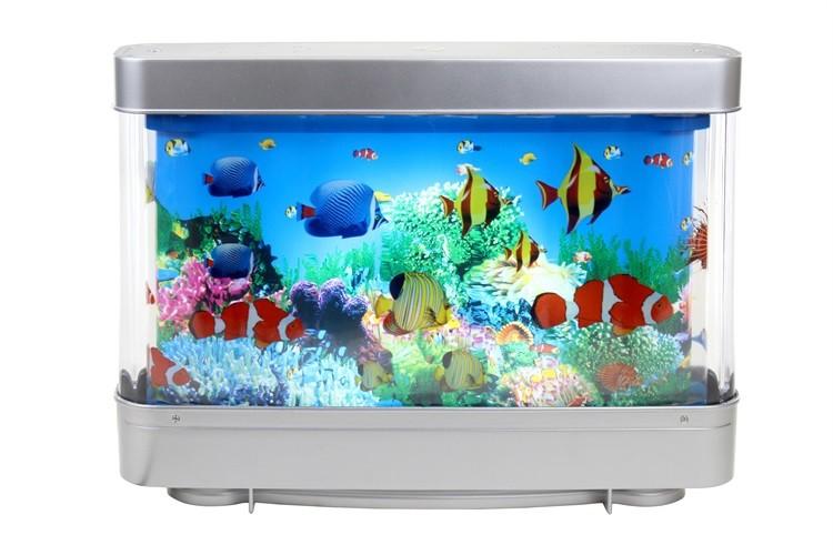Amazon Hot Sale 6w Artificial Tropical Fish Aquarium