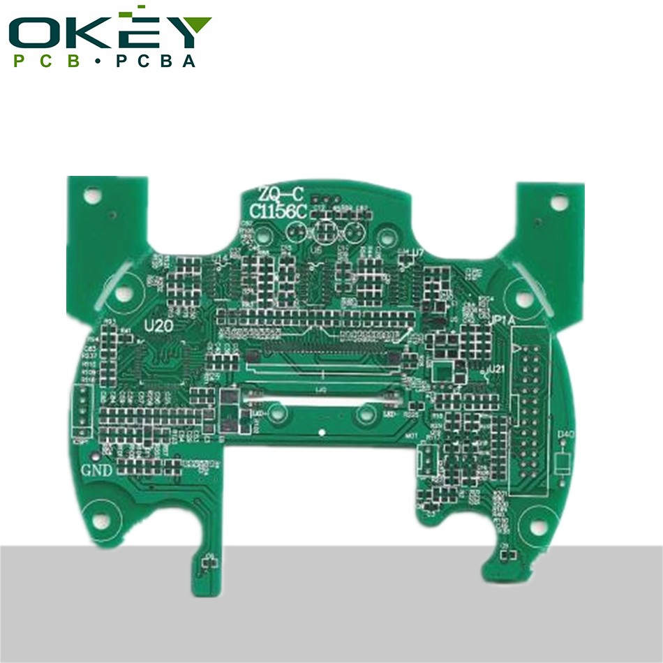 2 layer pcba supplier export oem fr4 94vo rohs pcb board