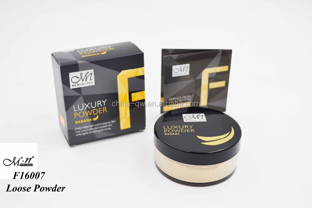 Menow F16007 High Quality Oil Control Banana Loose Powder