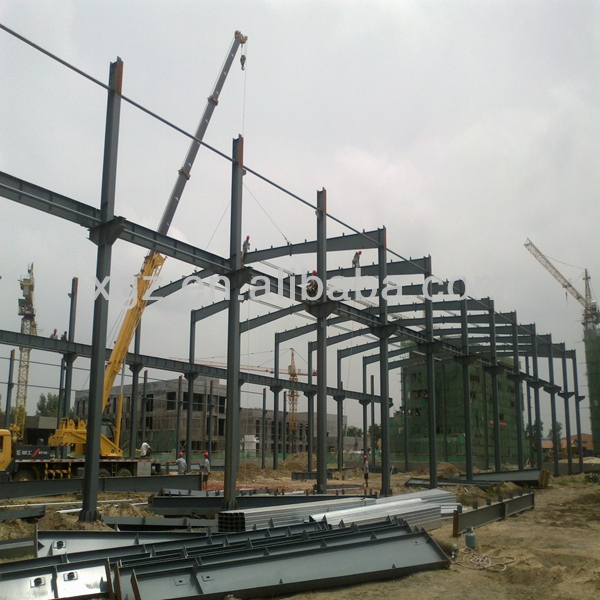 XGZ prefabricated steel structure workshop materials