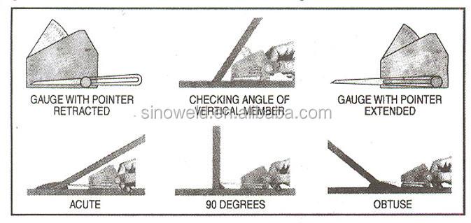 how to use welding gauge