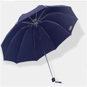 "Hot New Product Business 25""*10K 3-folding Manual Open Pongee Umbrella in self-fabric pouch Custom Rain Umbrella"