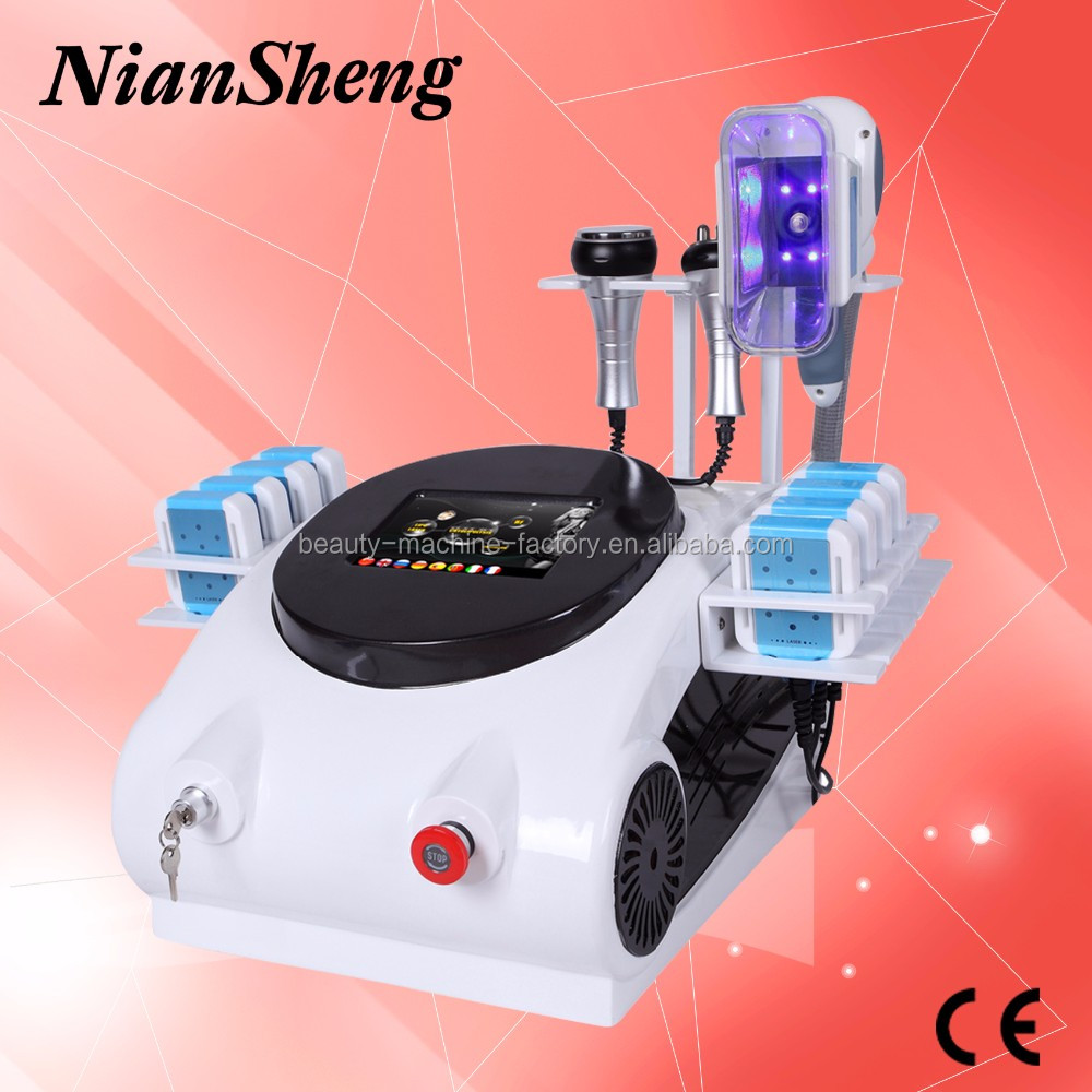 2017 Hot sale portable cryolipolysis machine weight loss fat reduce slimming machine with vacuum cavitation