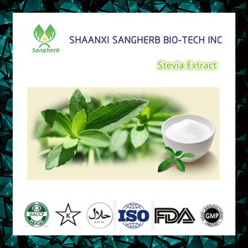Factory Supply high quality 100% Nature Pure Organic healthy Stevia extract Powder
