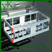 Hitch Cargo Carrier For Car, Aluminum Caro Carrier