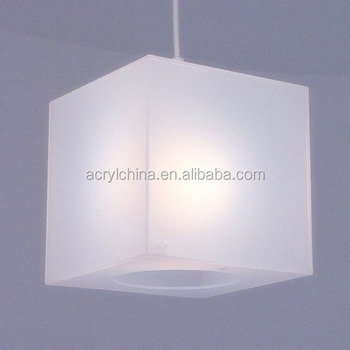 Translucent frosted white lucite acrylic lamp covers cube lamp translucent frosted white lucite acrylic lamp covers cube lamp light led shade aloadofball Images