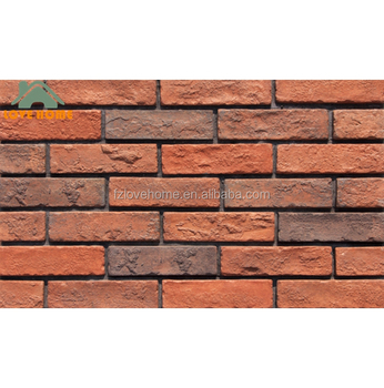 Exterior Wall Covering Tile Brick Castle