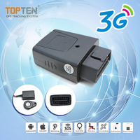 3G mini Obd2 live vehicle tracking devices [2G, 3G, 4G] OBD ODB GPS Tracker plug-and-play