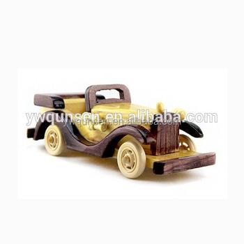 Super Hoge Kwaliteit Handgemaakte Houten Speelgoed Voertuigen Antieke GA-05