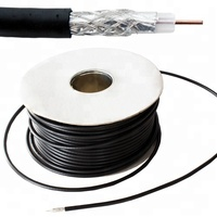 Rg6 Coax Cables Rg6 Foam/Solid Cable Rg6 60%,Rg6 Cable For Catv/Cctv